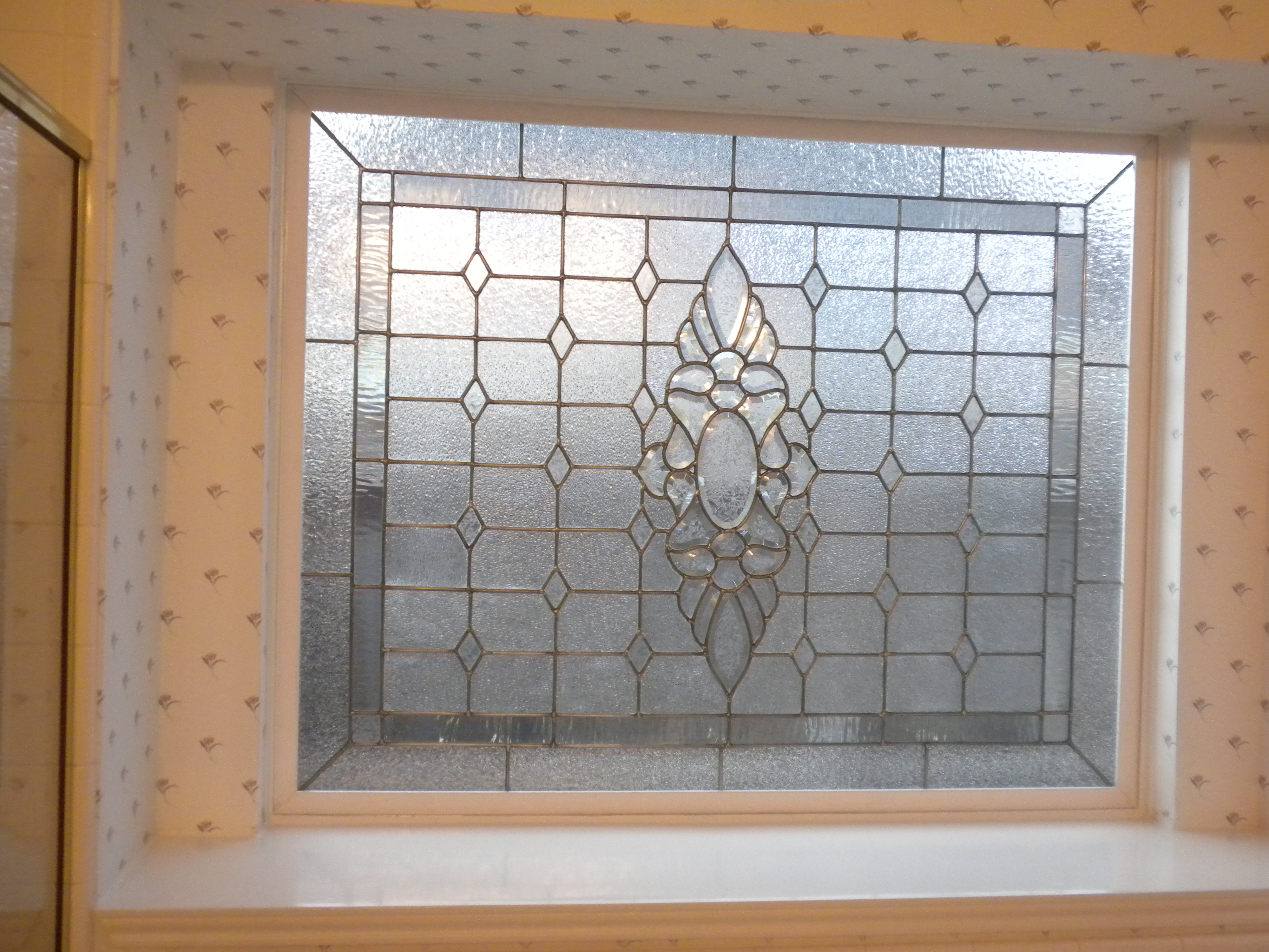 Beveled Stained Glass Window Allie Kay 39 S Glass More