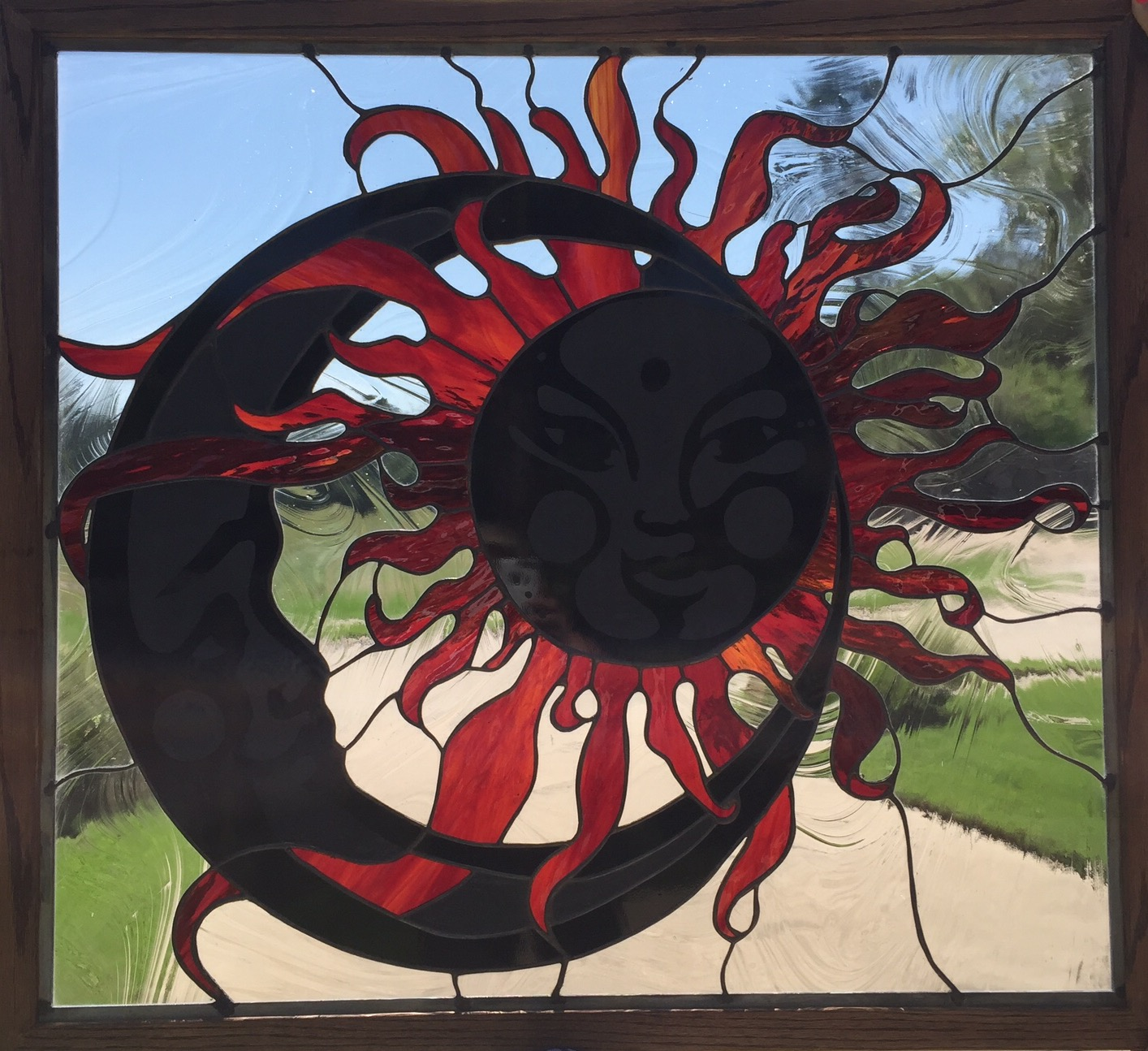 SUN AND MOON STAINED GLASS | Allie Kay\'s Glass & More