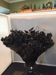 Black Brown Lamp